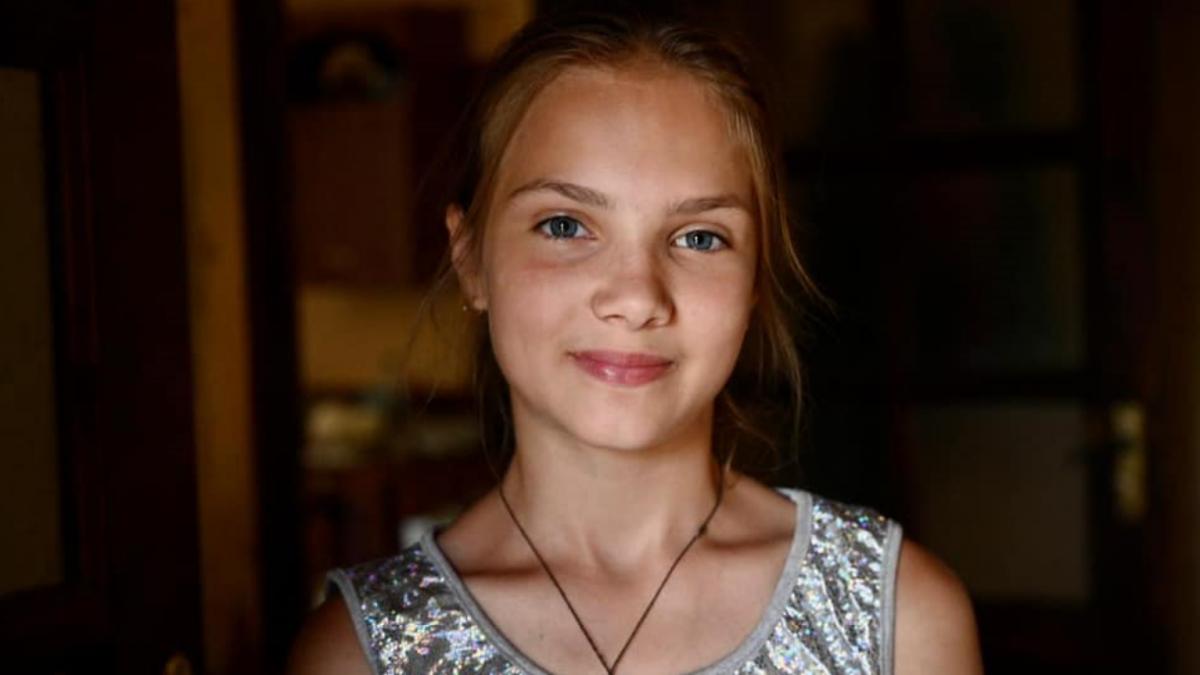 Таня врятувала від повені чотирьох дітей \ фото facebook.com/poloskovofficial