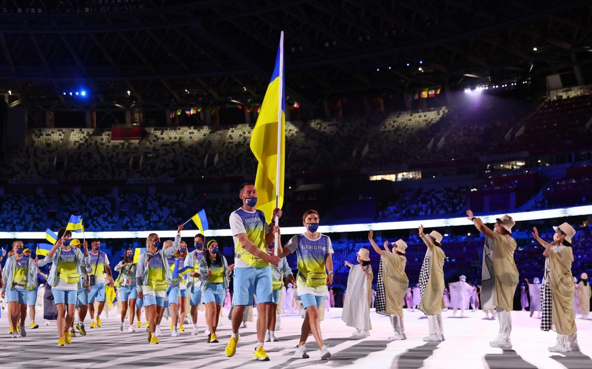 Команда Украины / фото REUTERS
