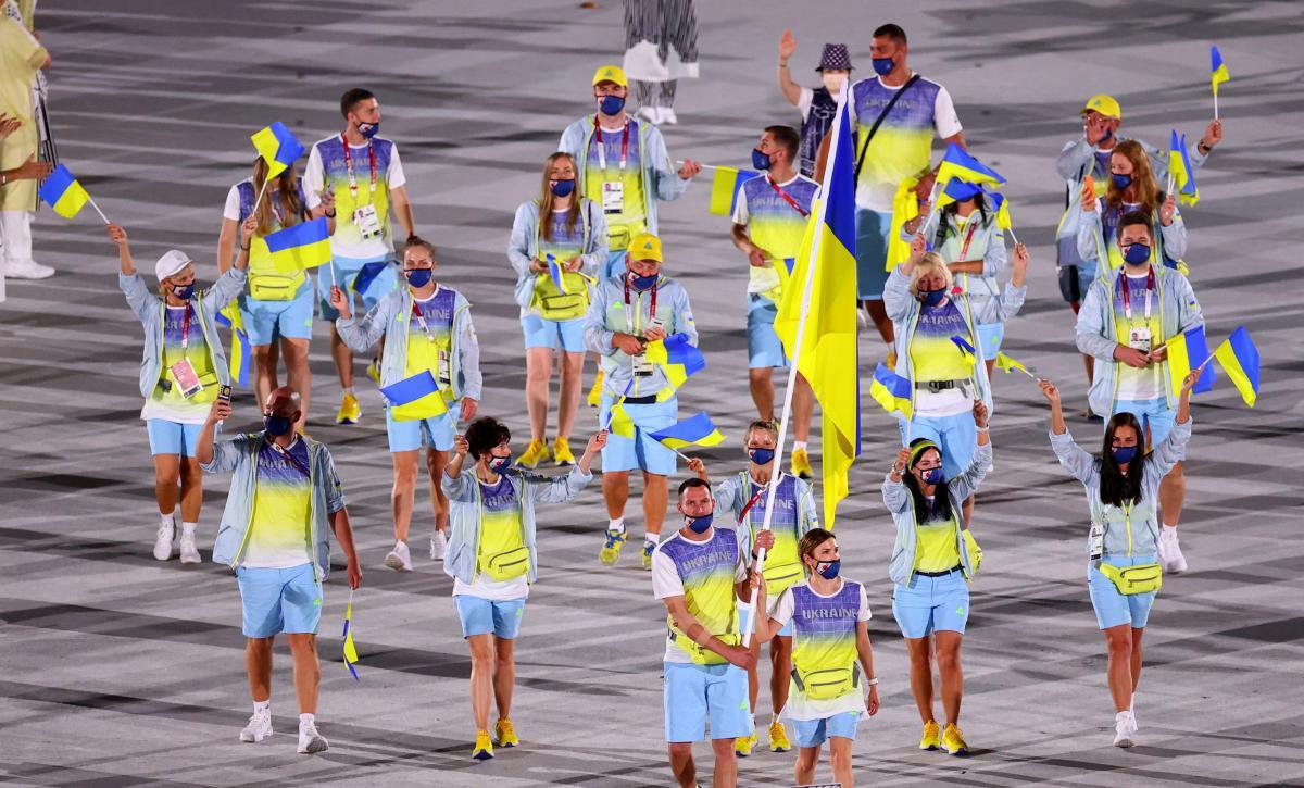 Україна на параді відкриття / фото REUTERS
