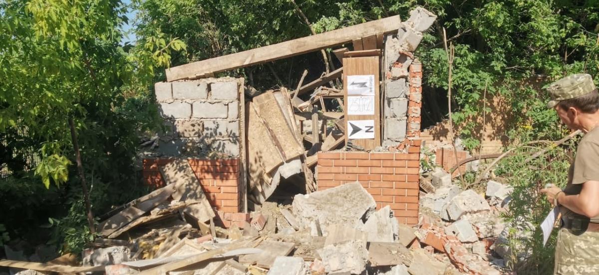 Бойовики обстріляли населений пункт / фото Facebook / пресс-центр ООС