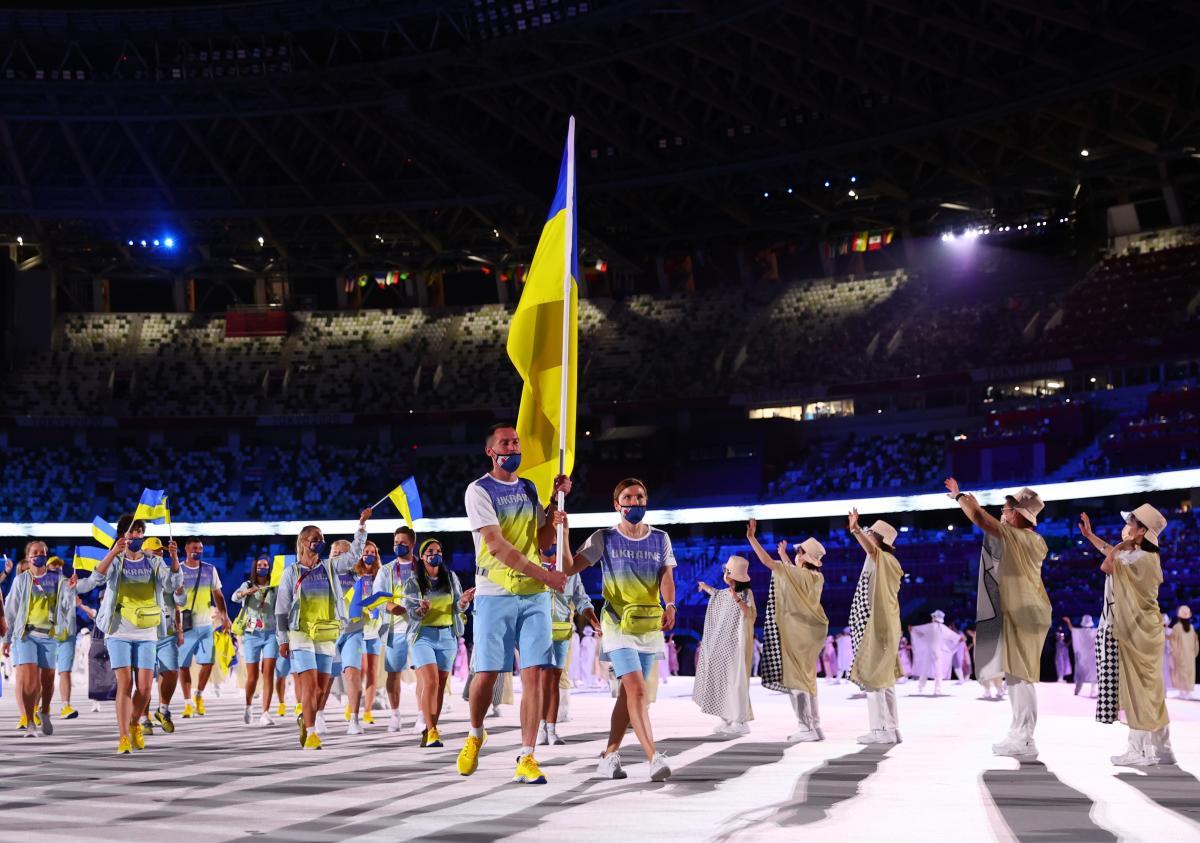 Російські телеканали показали рекламу замість українців на відкритті Олімпіади / фото REUTERS