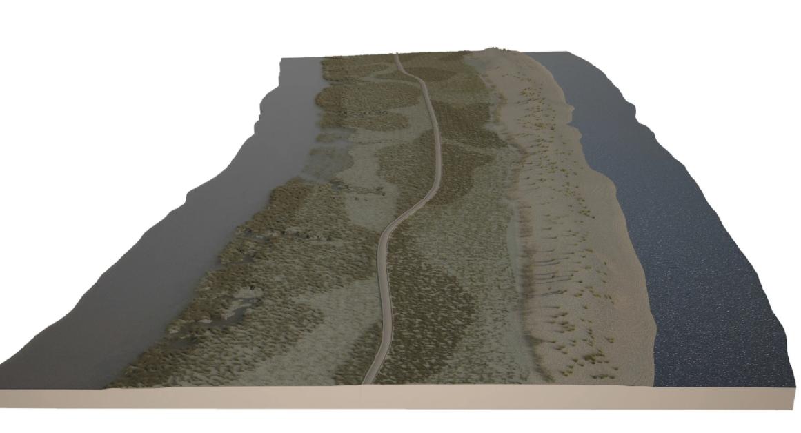 Дорога проходила между венецианской лагуной (слева) и Адриатическим морем (справа) / nature.com