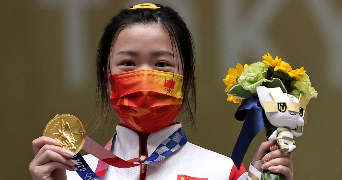 Ян Цянь - олимпийская чемпионка / фото REUTERS