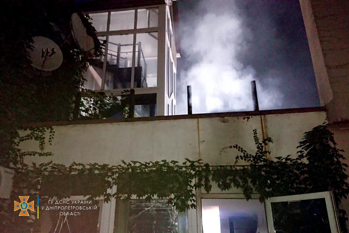 Спасателям удалось спасти 22 жителей дома / dp.dsns.gov.ua