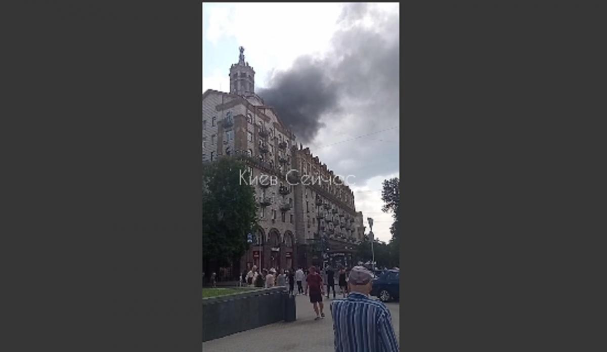 По данным СМИ, пламя удалось локализовать / скриншот