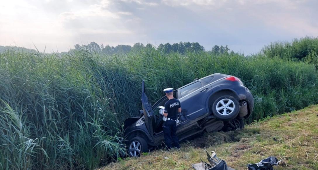 ДТП спровокувала саме жінка-водій \ фото KPP Radomsko