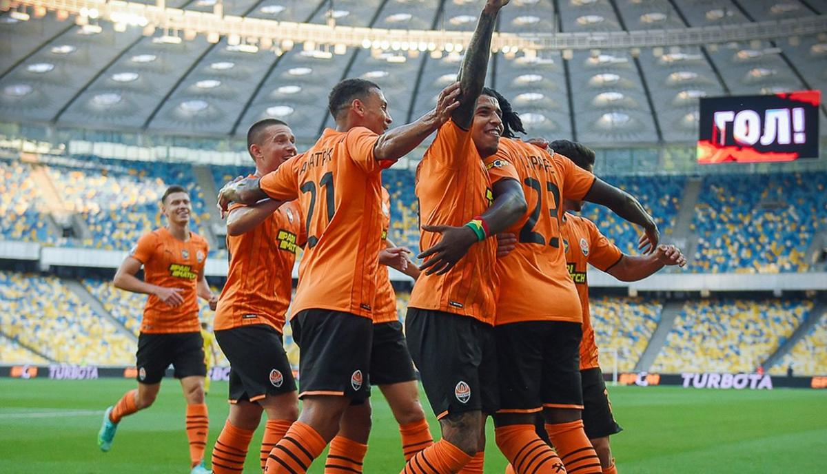 Шахтар двічі забив у першому таймі / фото ФК Шахтар
