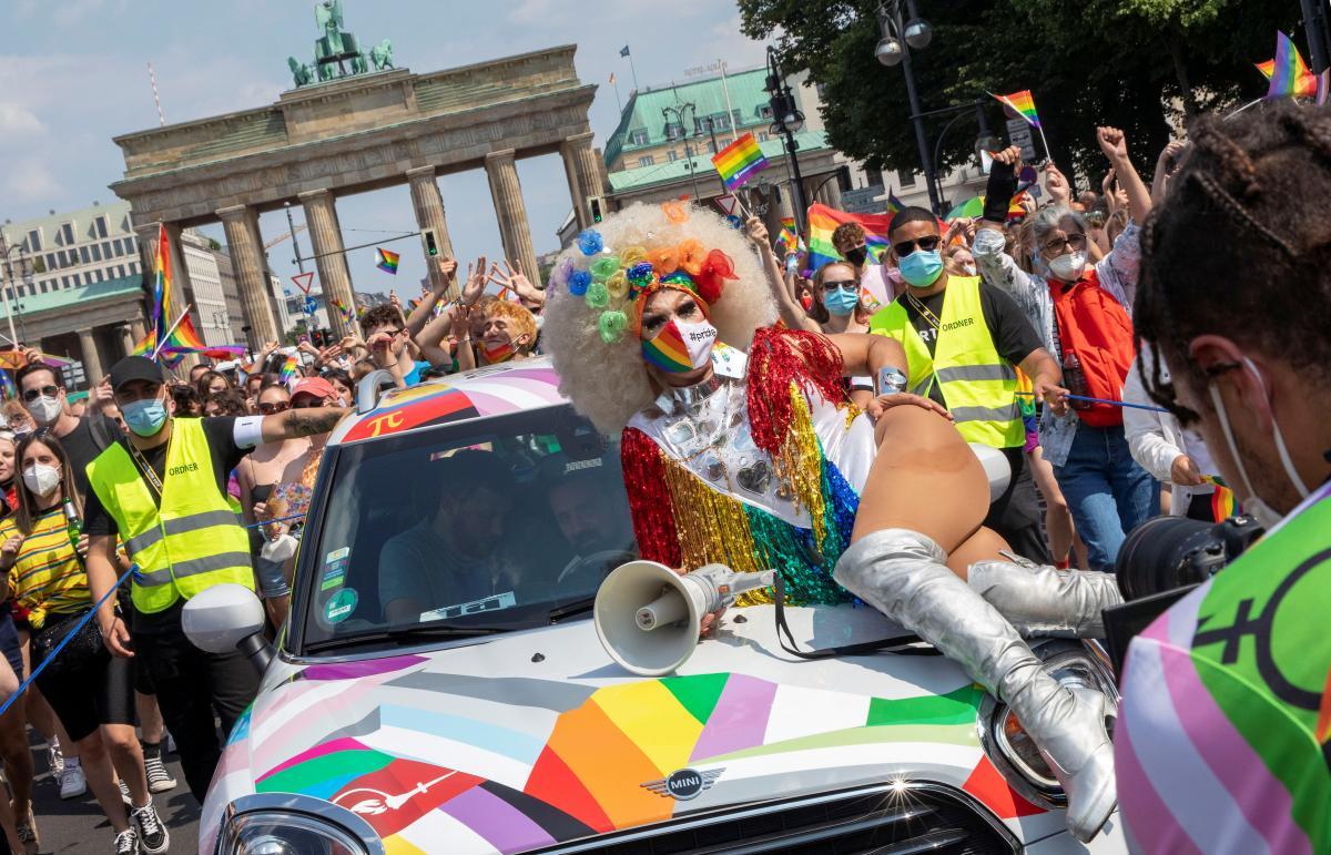 Мітинг 24 липня в Берліні / REUTERS