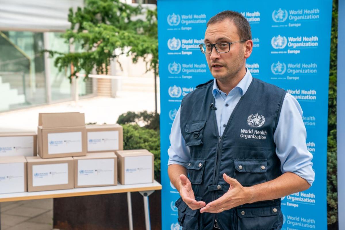 ВООЗ вітає комбінування вакцин - голова Бюро в Україні/ фото надано пресс-лужбою ВООЗ Україна