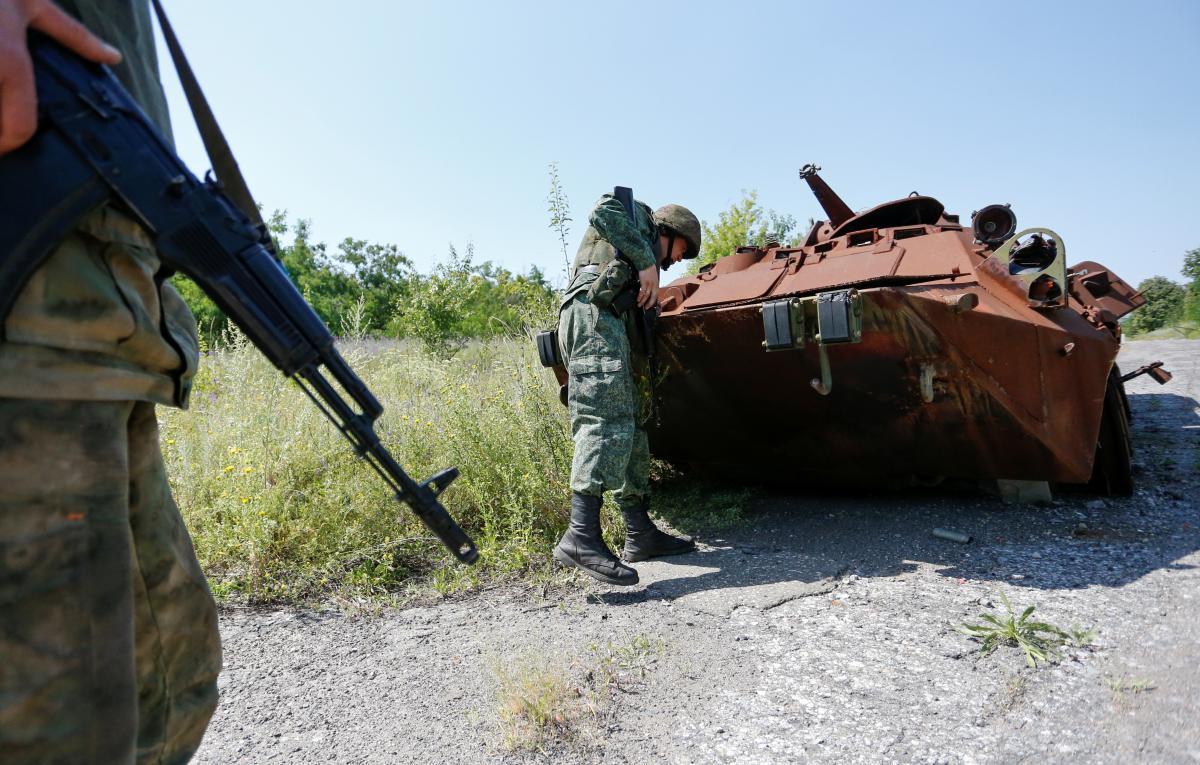 Война на Донбассе с Россией продолжается с 2014 года / REUTERS