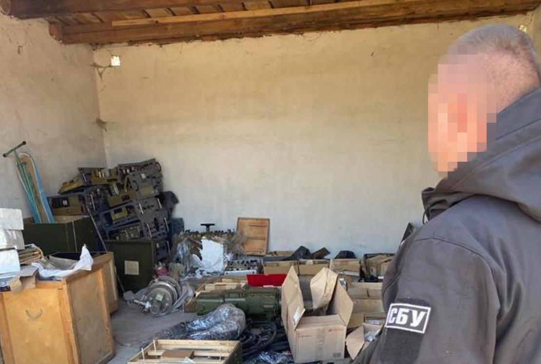 Сотрудники СБ предотвратили вывоз военных компонентов из Украины / СБУ
