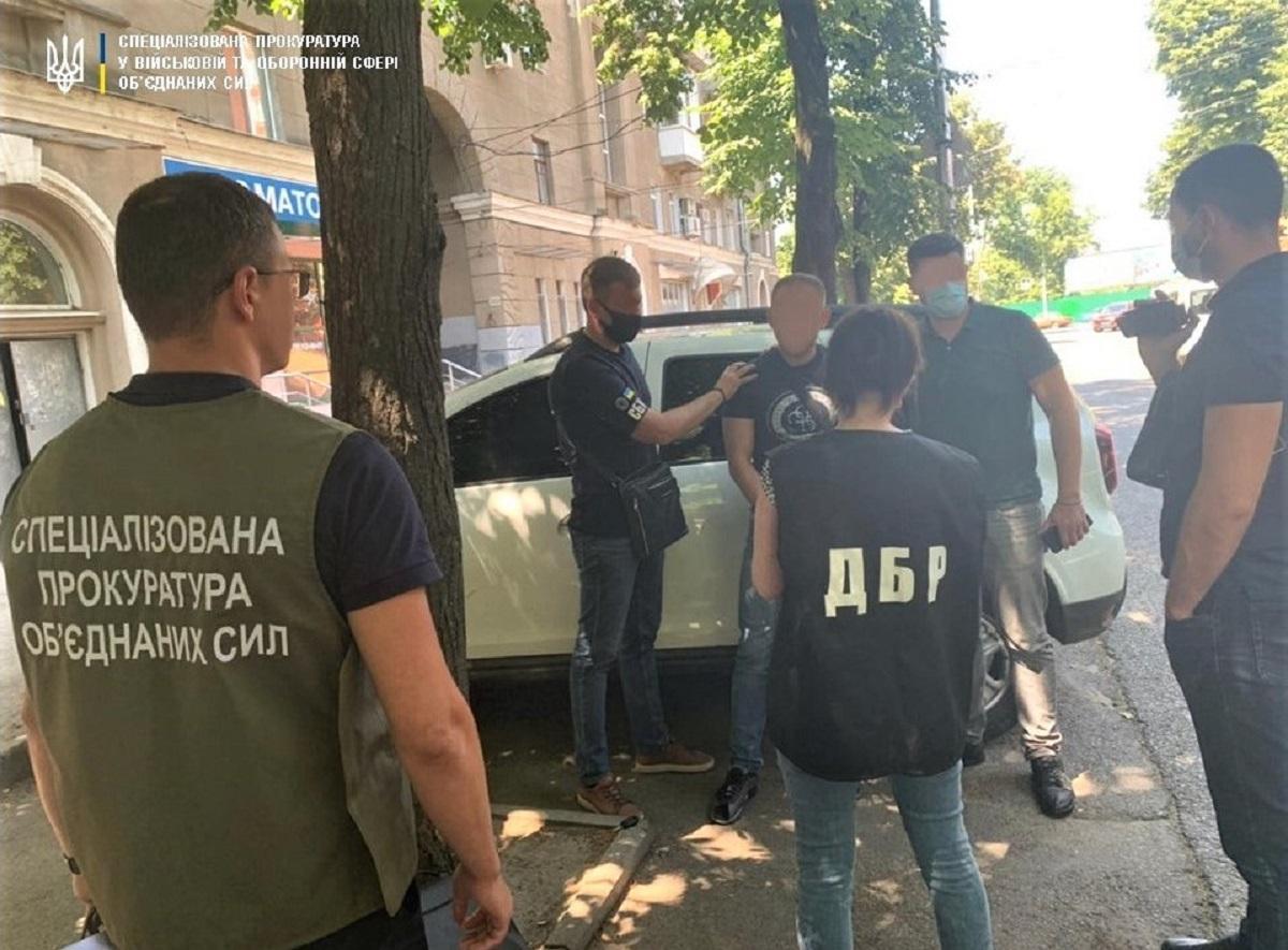 Пограничник задержан, емуизбрана мера пресечения / фото gp.gov.ua