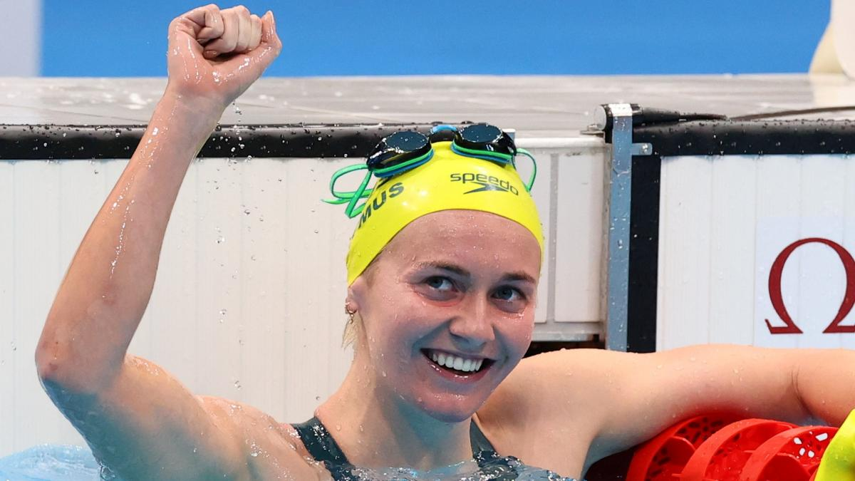 Аріарна Тітмус відреагувала на перемогу не так яскраво, як її тренер / фото REUTERS