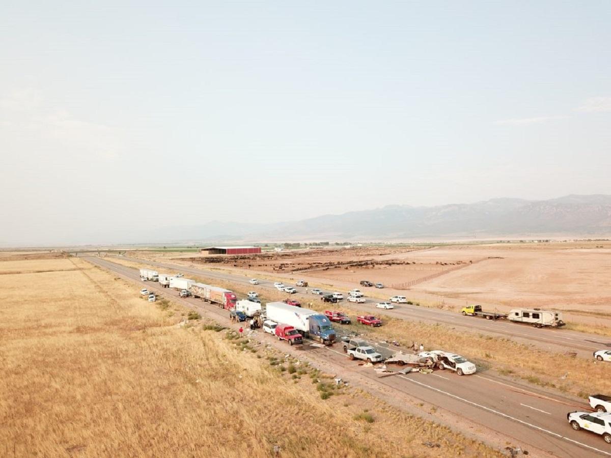 У масштабній аварії у штаті Юта загинули мінімум 7 людей / фото Utah Highway Patrol