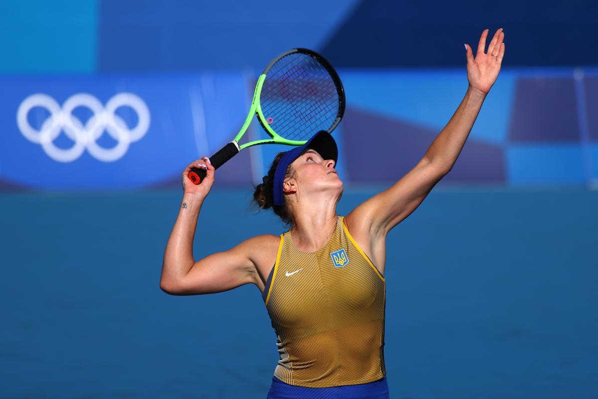 Еліна Світоліна продовжує боротися за медаль / фото REUTERS