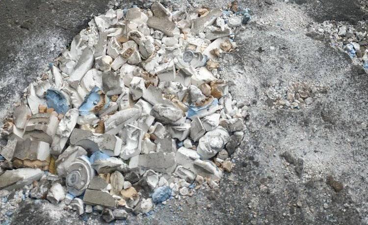 Стоматологи часто пытаются решить проблему с ямами своими силами / фото - facebook.com/groups/severopolis