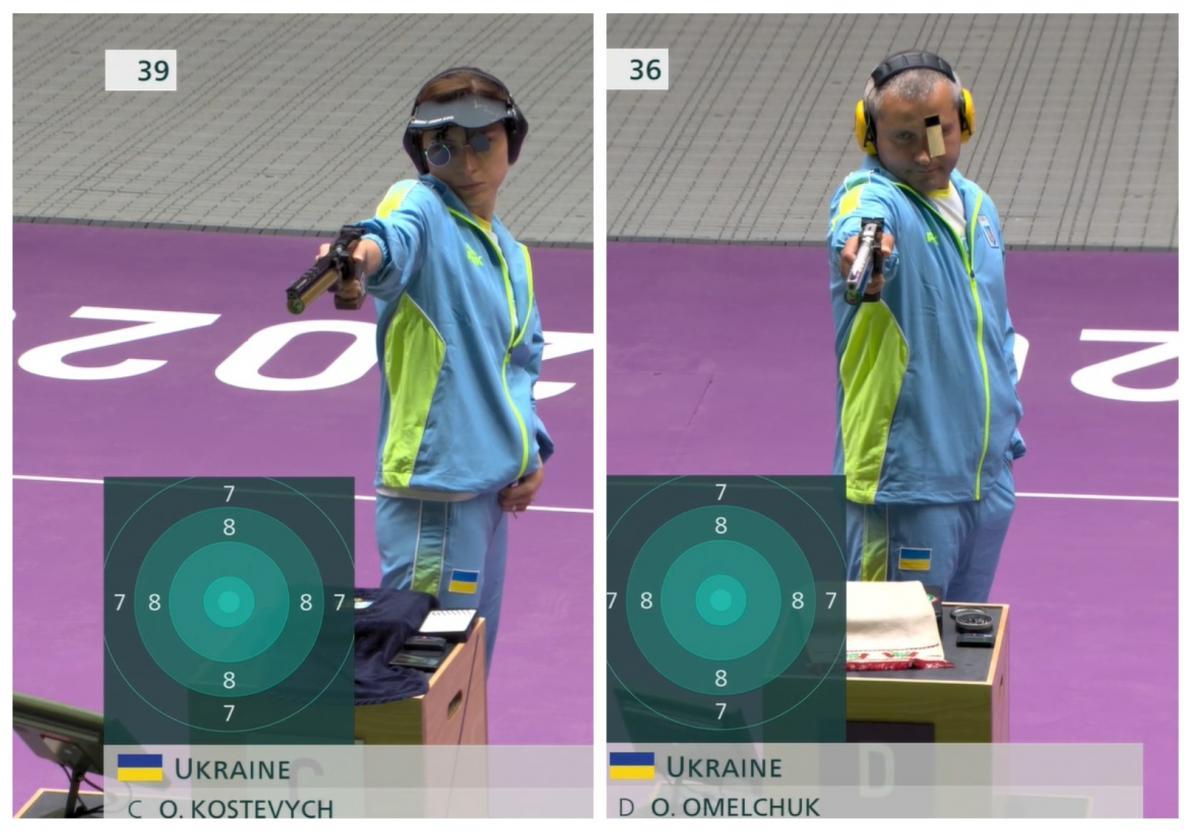 Українці здобули для України третю медаль/ Фото: НОК України