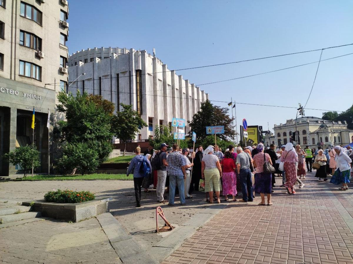 Крестный ход в центре Киева / фото УНИАН