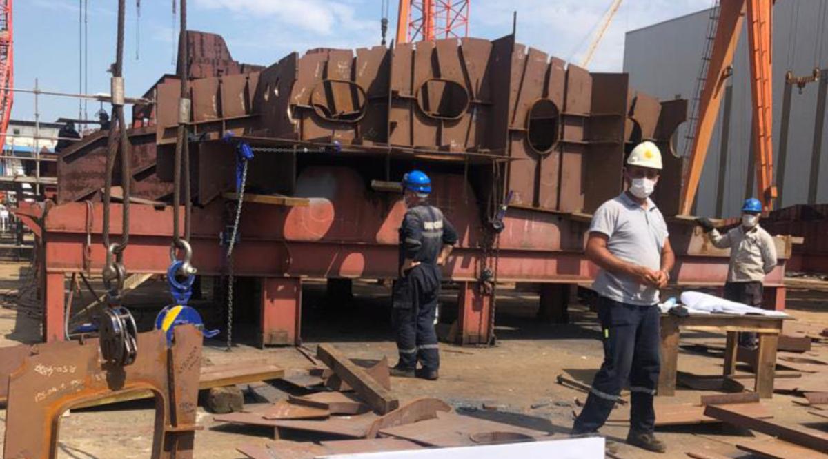 В Турции строят корабль для ВСУ / Минобороны