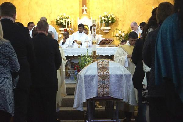 Католицький похоронній обряд