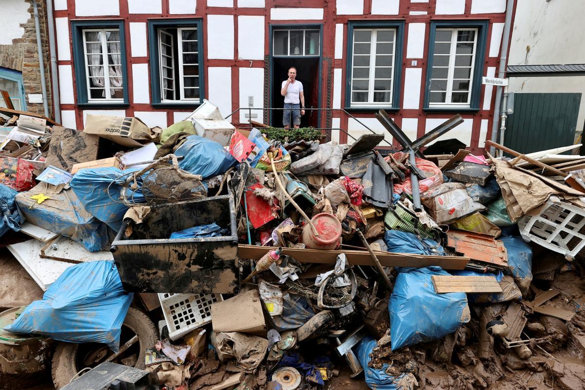 Экономический ущерб только в Германии достигнет более 10 миллиардов евро / фото REUTERS
