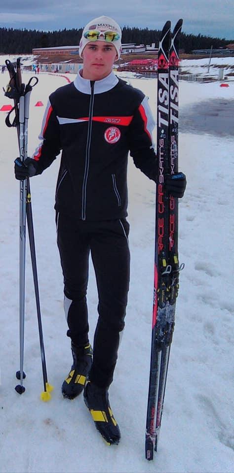 Дмитрий Барнич / фото - facebook.com/BiatlonZakarpattya