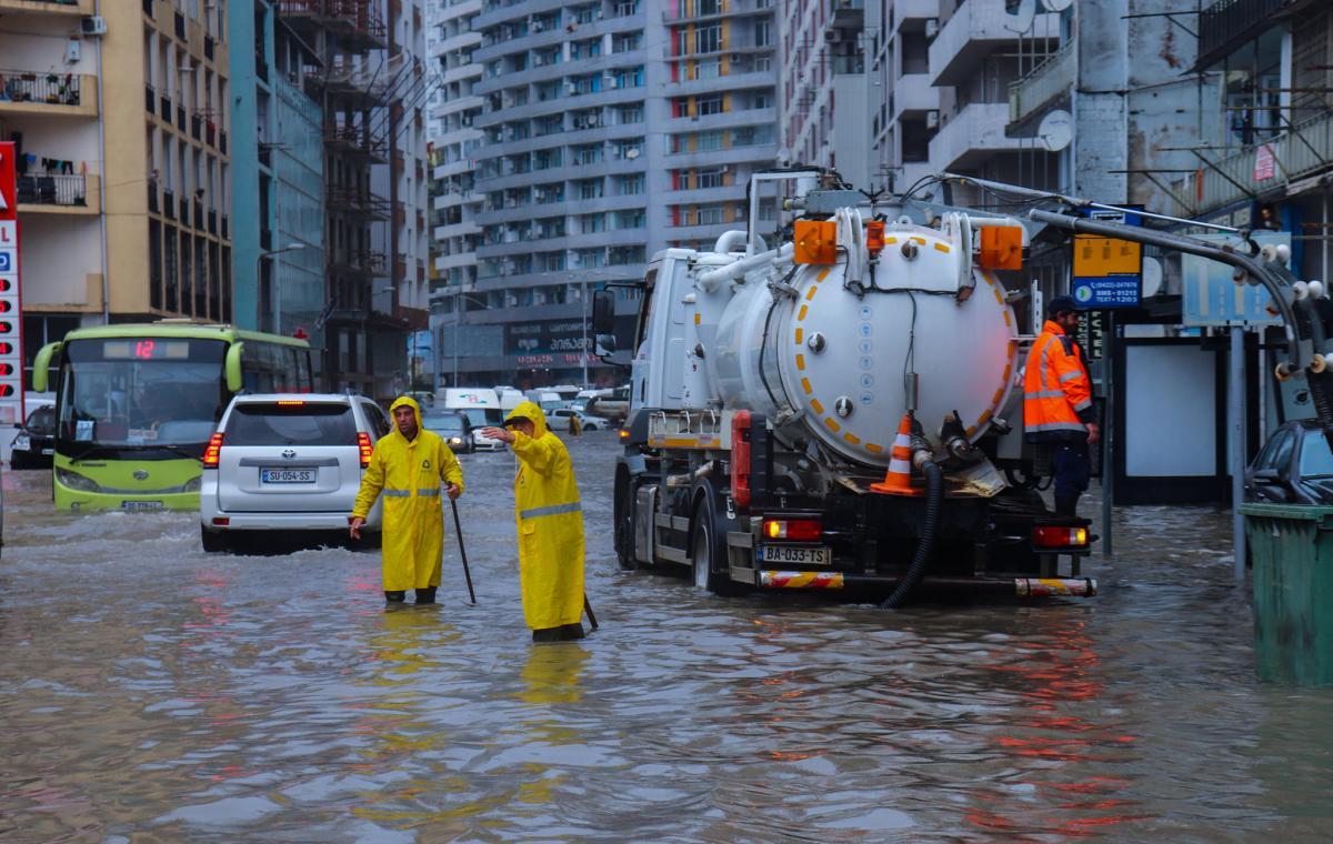 У Грузії після злив затопило кілька населених пунктів / фото мерія Батумі
