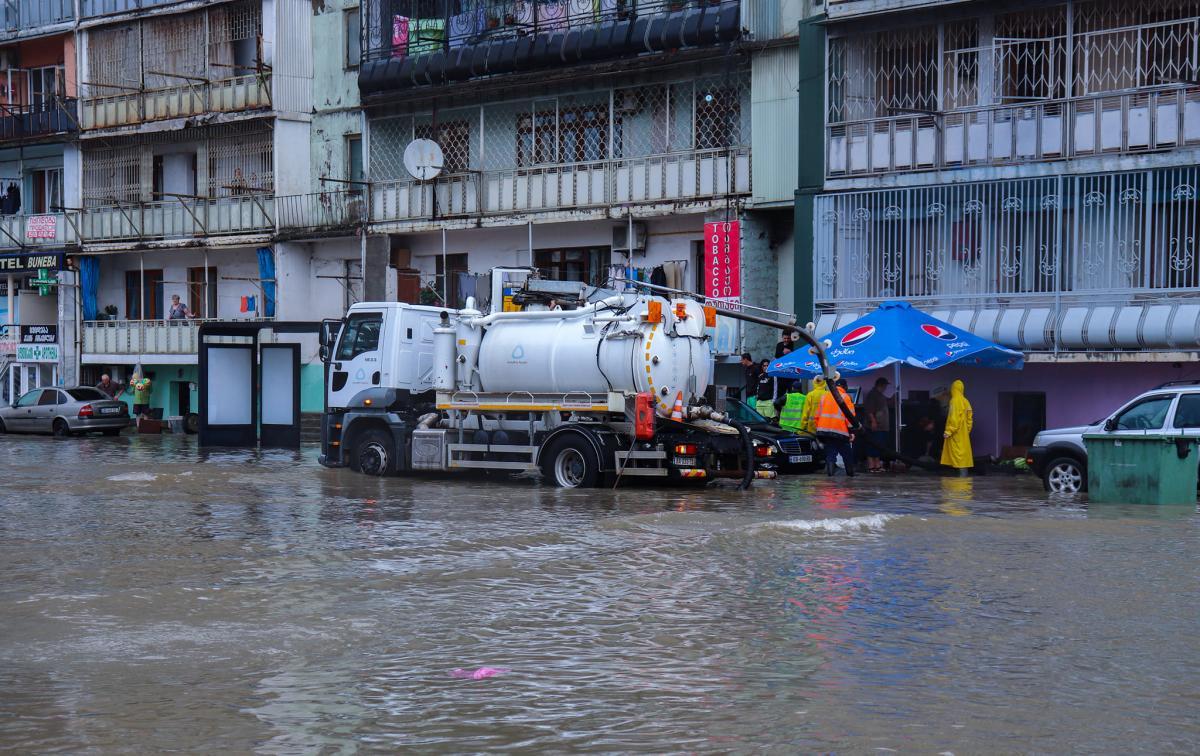 У Батумі затопило лікарню / фото мерія Батумі