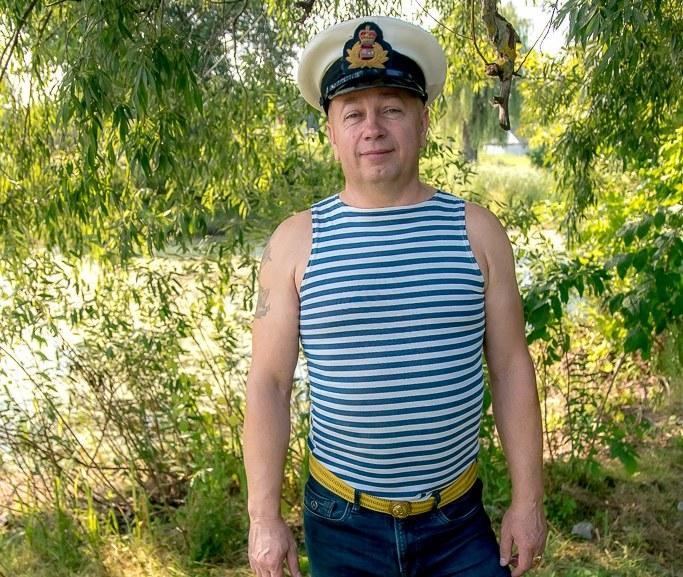Волошин служив у військово-морському флоті при СРСР / фото facebook.com/Сергій Волошин