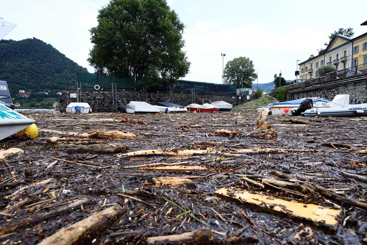 Один из районов Италии накрыли паводки / фото REUTERS