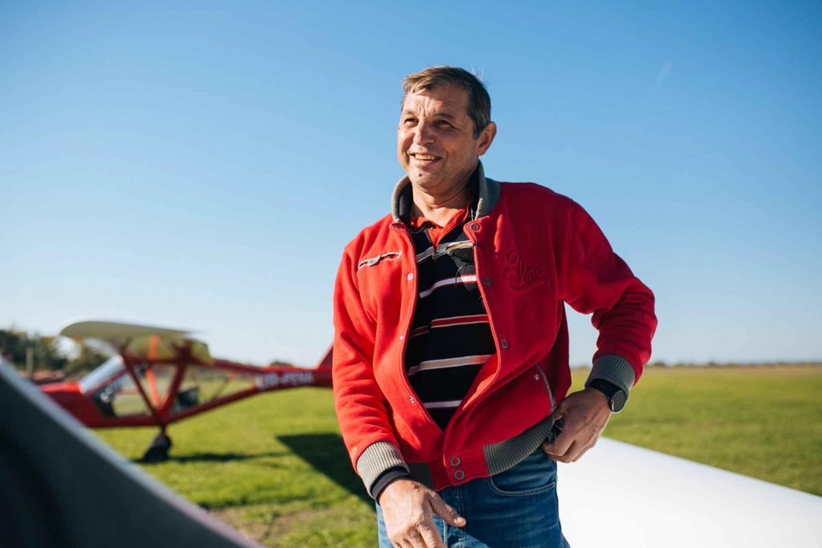 Табанюк колись здійснював посадку без двигуна / фото - ukrainer.net