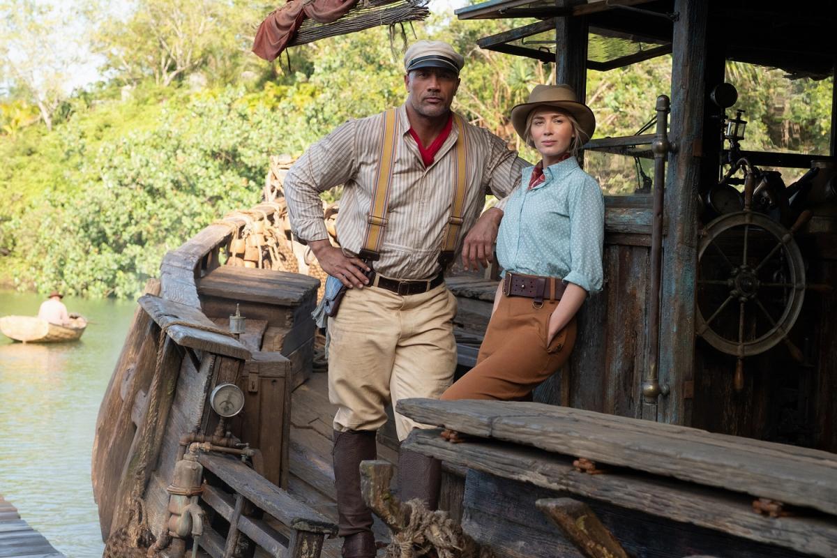 Кадр з фільму «Круїз по джунглях»