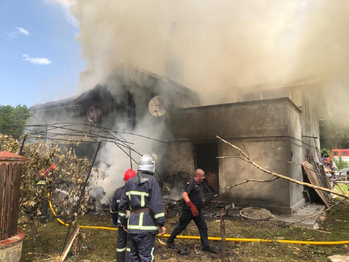В аварии самолета на Прикарпатье погибли пилот и трое пассажиров / фото ГСЧС