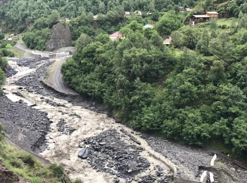 В Дагестане сели разрушили два моста / фото Минтранс Дагестана