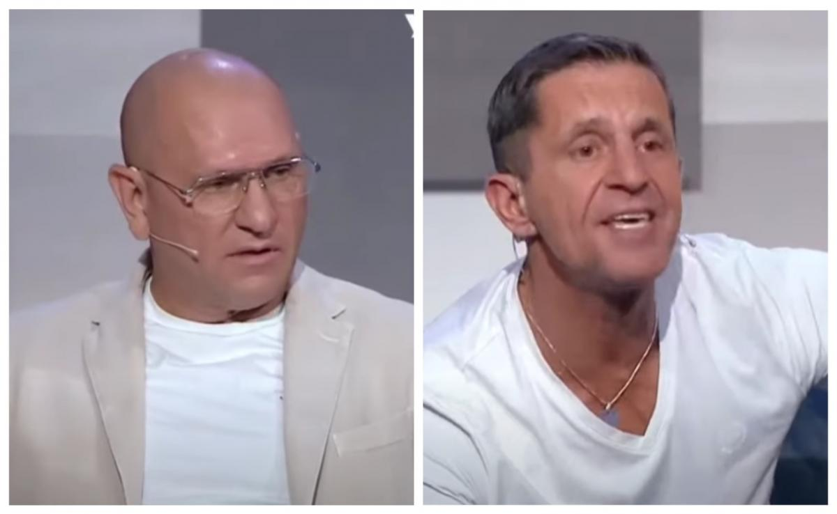 Shevchenko and Shkiryak quarreled live / screenshot