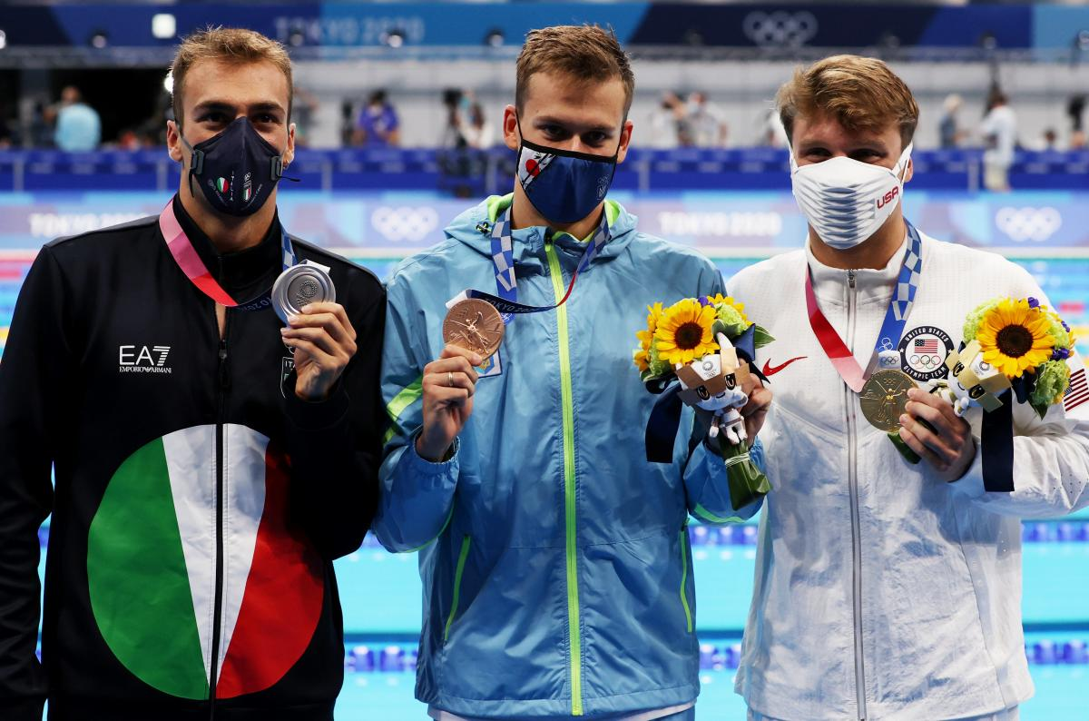 Американець, італієць та українець потрапили на п'єдестал / фото REUTERS