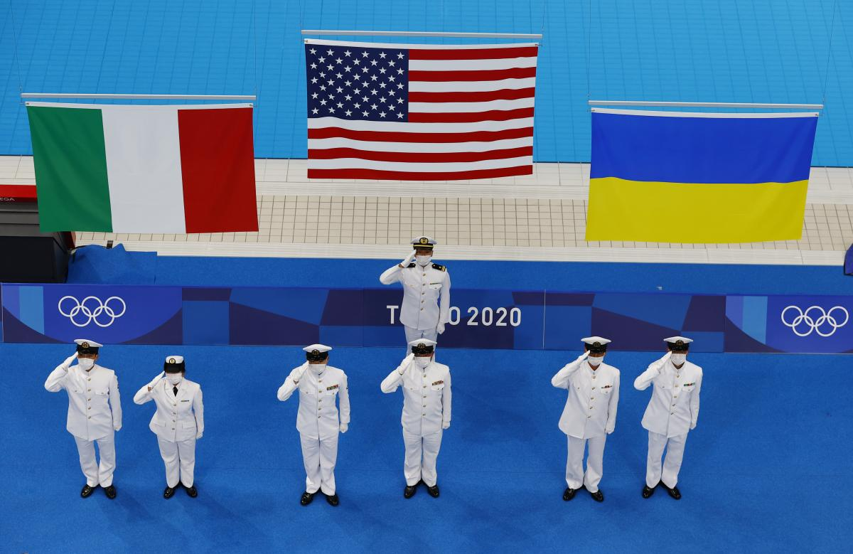 Михаил Романчук принес Украине бронзу в плавании / фото REUTERS