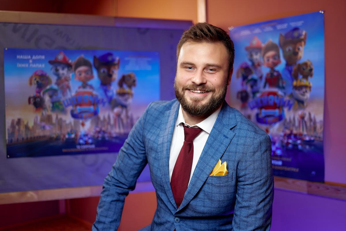 Егор Гордеев озвучивал героя мультика / пресс-служба 1+1
