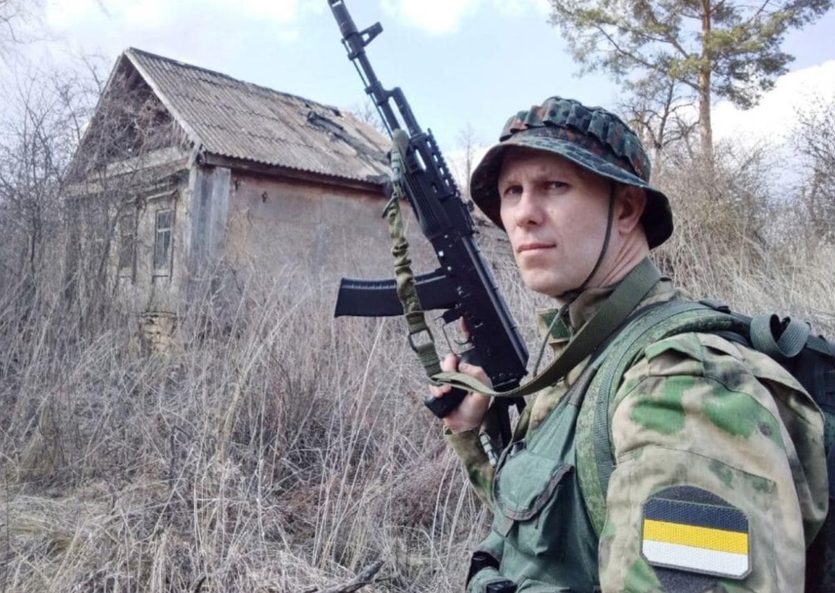 Антон Раевский воевал за террористов / фото Денис Казанский/Telegram