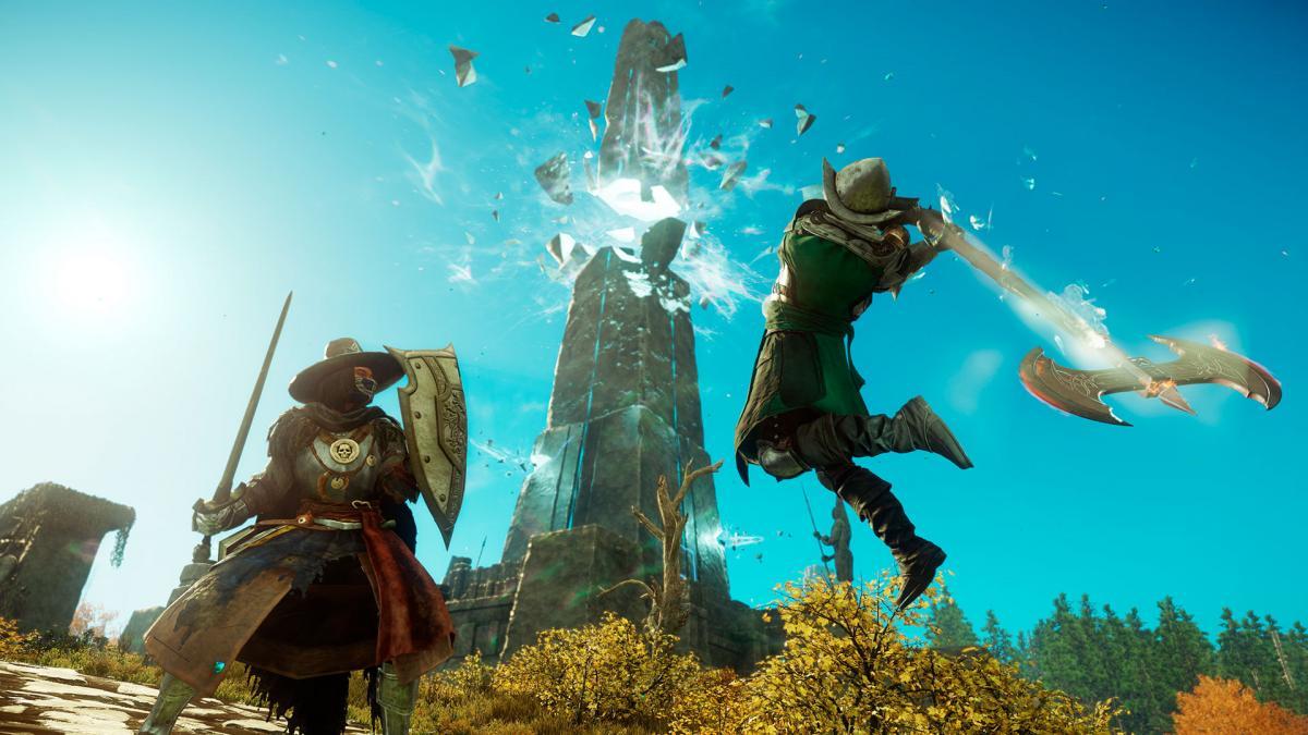 К боевой системе New World у некоторых критиков возникают вопросы / фото Amazon Games