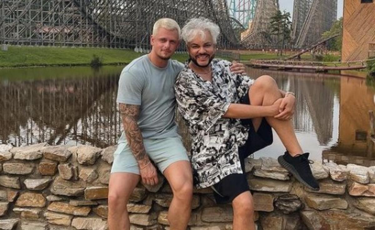 Филипп Киркоров со своим другом/ фото Киркоров/Instagram