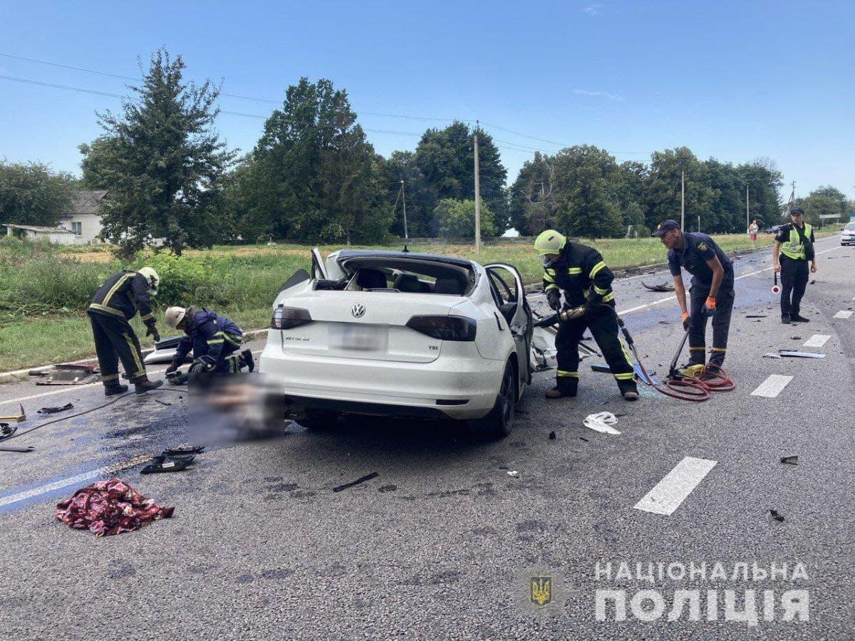 Стало відомо, хто загинув в ДТП в селі Мала Севастянівка в Черкаській області / фото Нацполіція