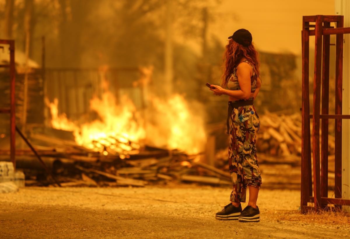 В МЗС розповіли, чи жаліються українці на пожежі в Туреччині / фото REUTERS