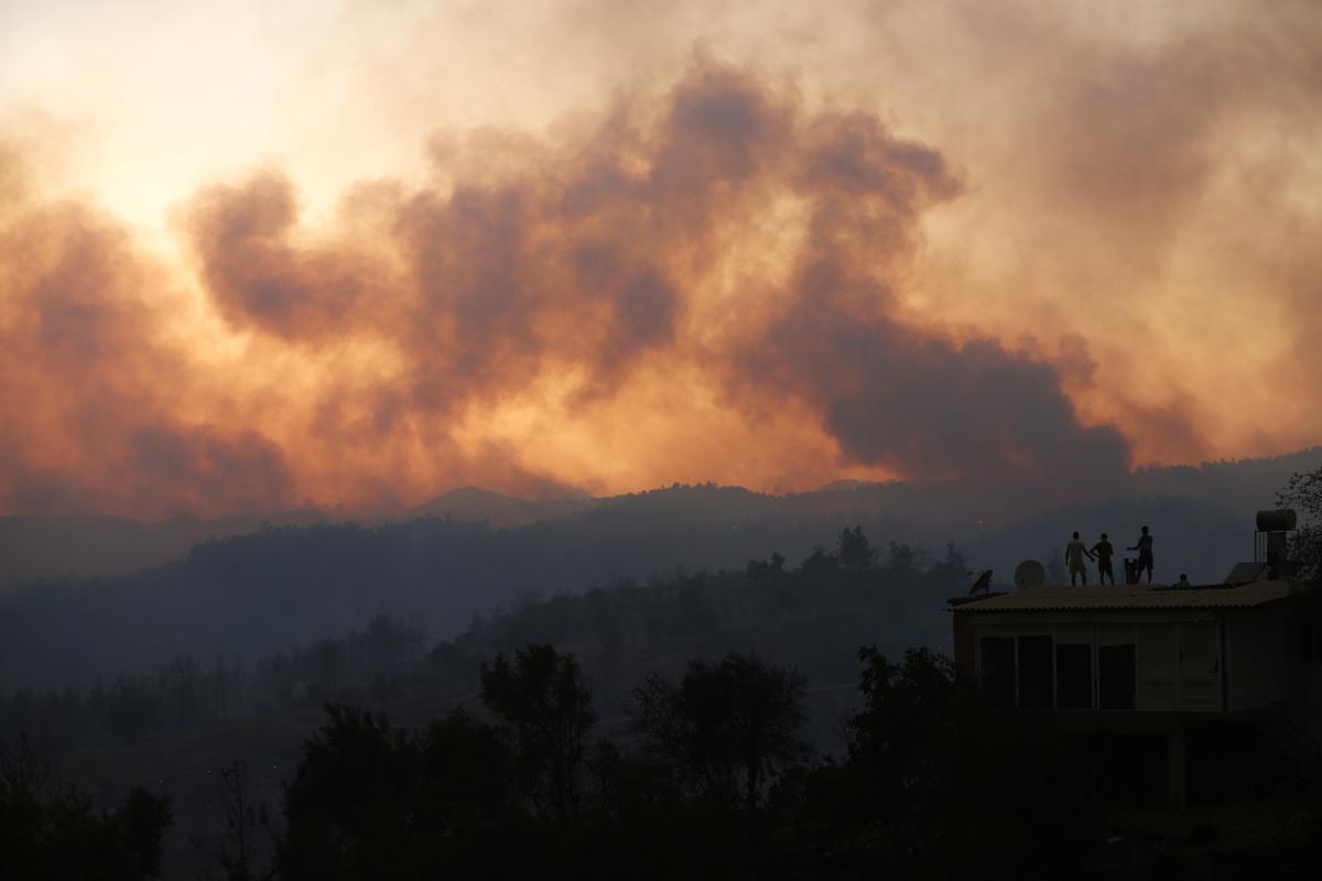 В Турции бушуют лесные пожары / фото REUTERS