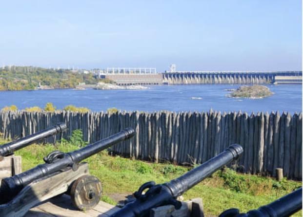 Острів Хортиця, який відновлюють у рамках «Великого будівництва», отримає сучасну айдентику / фото ostriv.org/galereja-ua/