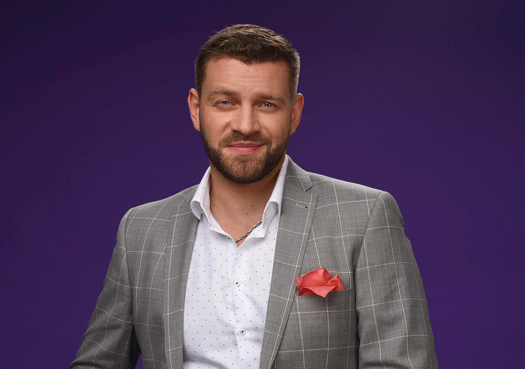 Телеведущий Богдан Юсипчук / пресс-служба