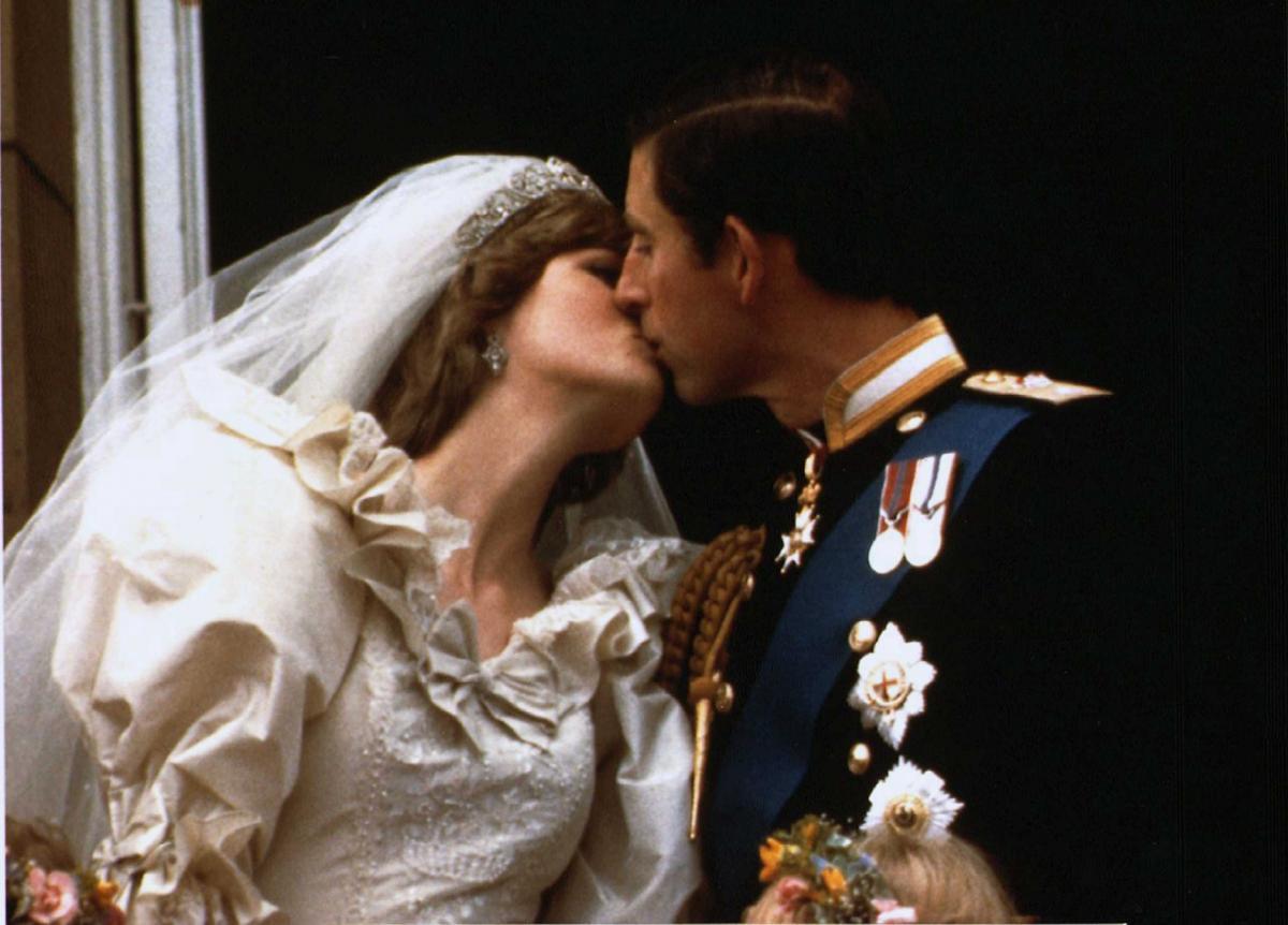 Принц Уельський і леді Діана Спенсер одружилися 29 липня 1981 року / фото REUTERS