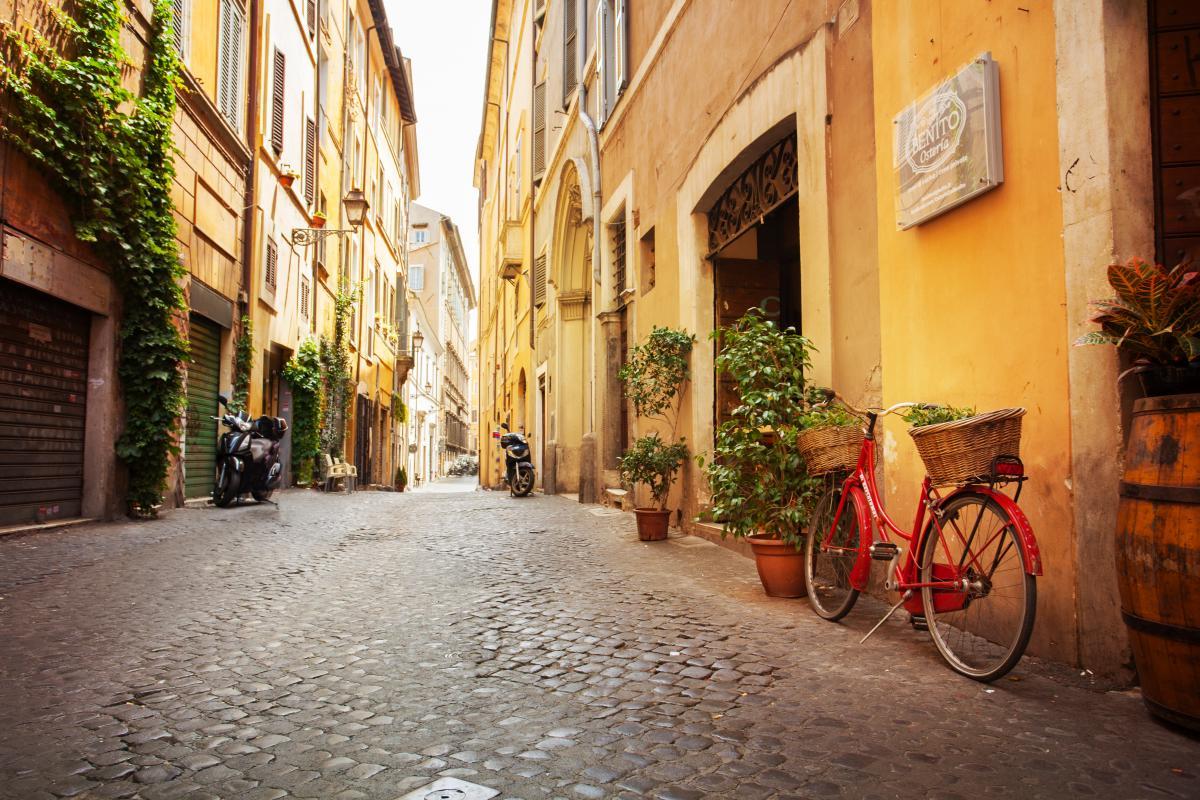 Навіть самоізоляція не може зіпсувати емоції, коли ти в Італії / фото ua.depositphotos.com