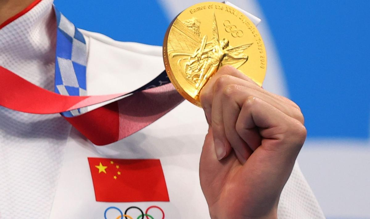 Китай лидирует на Олимпиаде / фото REUTERS