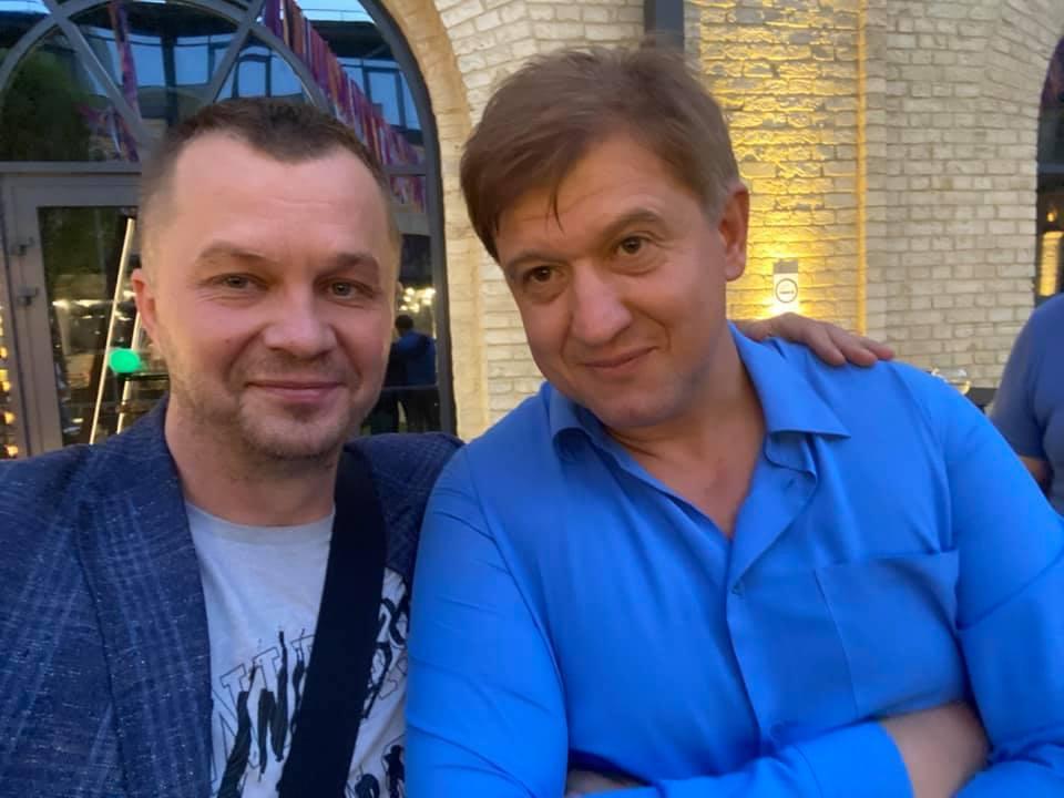 Александр Данилюк подрался с Тимофеем Миловановым / фото Facebook Милованова
